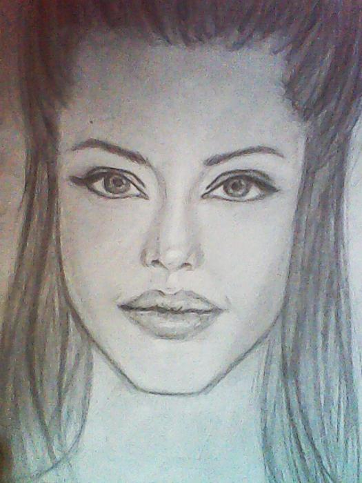 Angelina Jolie by Semra